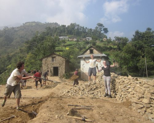 Construction in Nepal