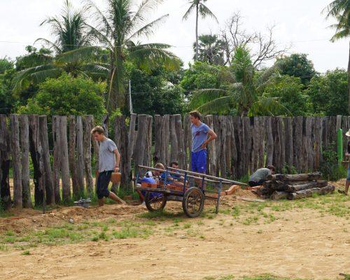 cambodia construction wheelbarrow