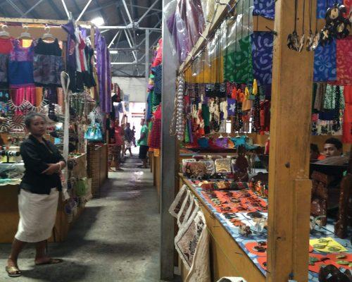 exploring the food markets in samoa