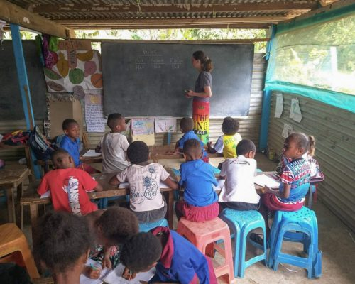 Jasmin Pickett- Vanuatu teaching