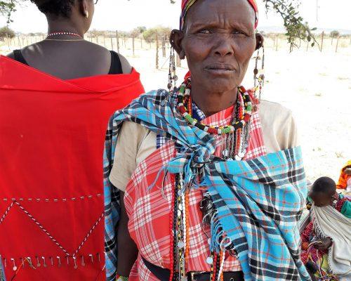 KE Maasai Mara community woman
