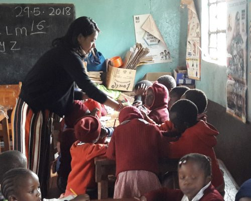 participant at kindergarten