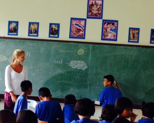 primary school teaching assignment for volunteers in thailand