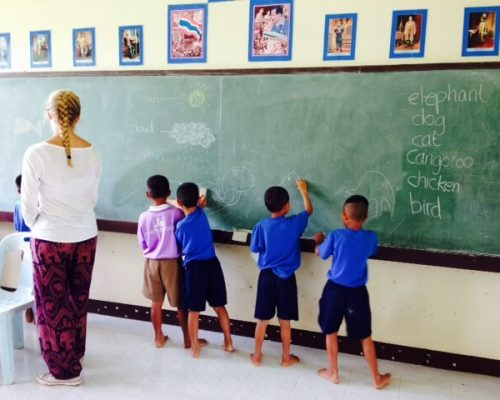 teaching in thailand in the hill tribes
