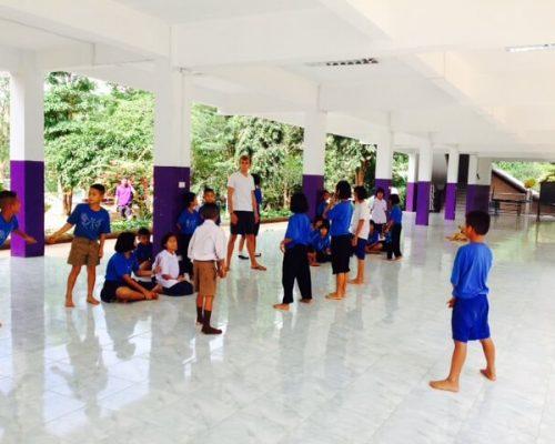 Karen Tribe Teaching thailand