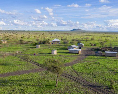 Landscape - Maasai Village