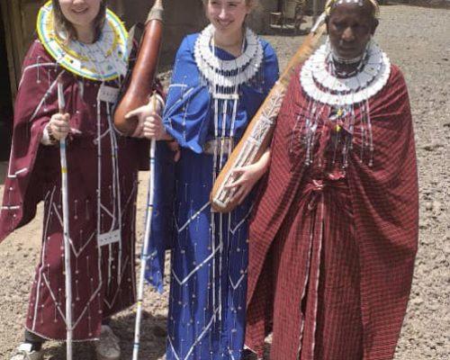 Maasai dress