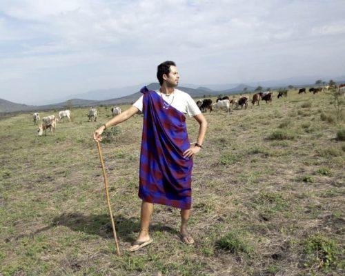 Maasai tradional outfit