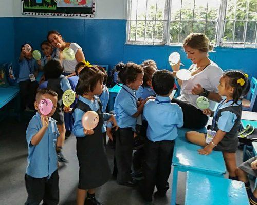 IVI Kindergarten volunteering Nepal
