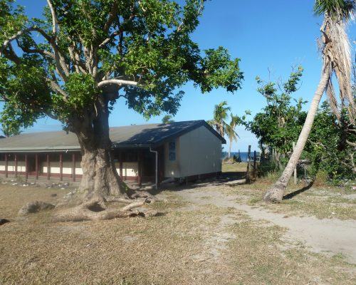 primary school on the beach remote island volunteering