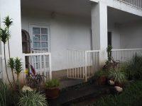 outside of the homestay in samoa