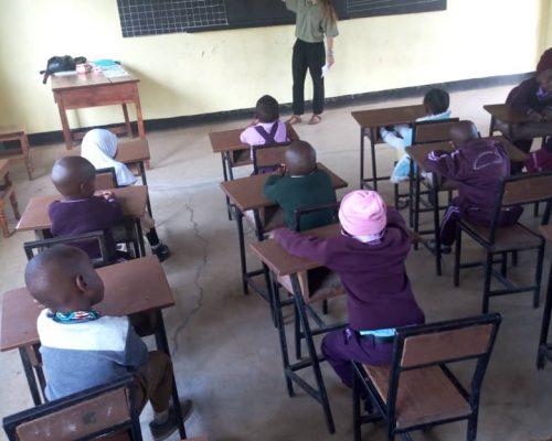 teaching English in Tanzania with IVI