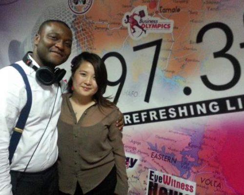 Participant on the radio