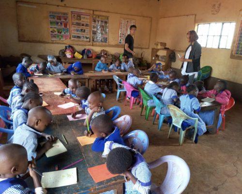 Participants giving class (1)