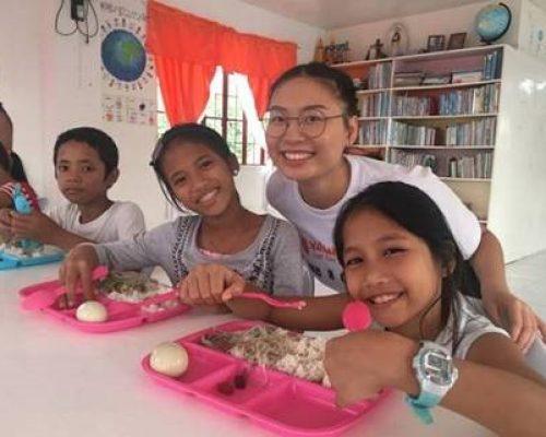 Philippines feeding program