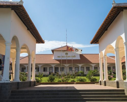 Phan Thiet College grounds