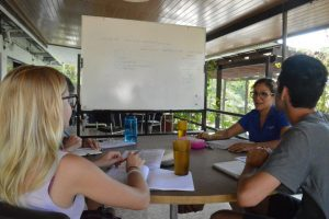 learning spanish at the centre