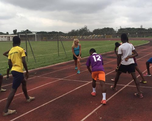 athletics training sessions