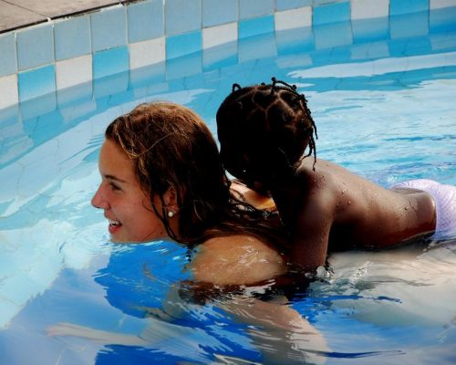 swimming lessons in Ghana