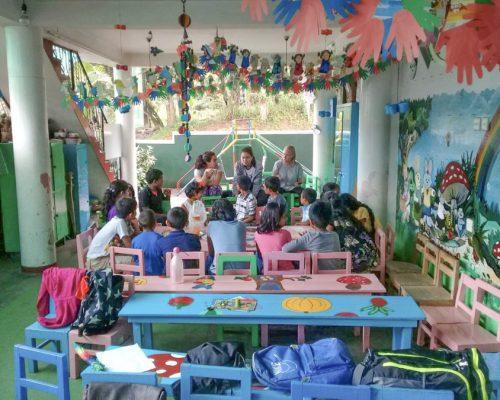 Sri Lanka kindergarten Teaching volunteering