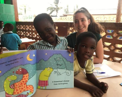 Teaching in Ghana with IVI