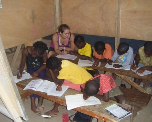 Teaching English in Ghana