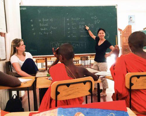 Teaching Monks