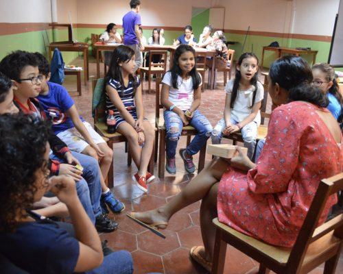 Teaching in circle