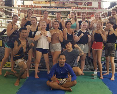 Thai boxing - Group photo