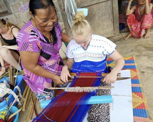 Traditional Thai Weaving