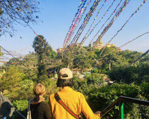 walking Nepal