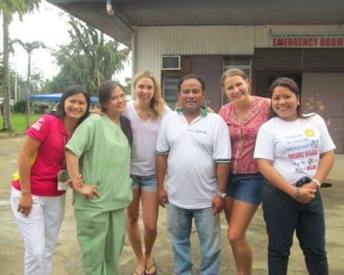 medical placements through involvement volunteers international