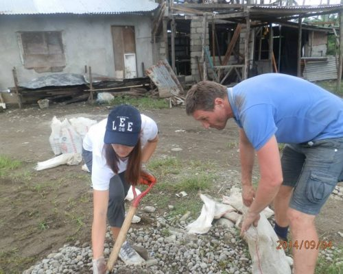 Disaster Recover Build a Home Philippines - 2015 3