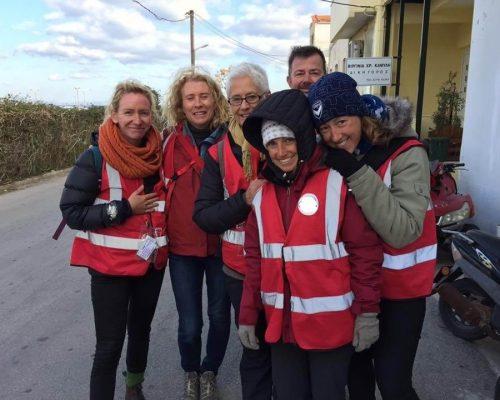 Syrian refugee medical volunteer work Greece