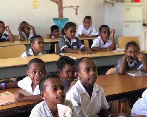fiji school classroom