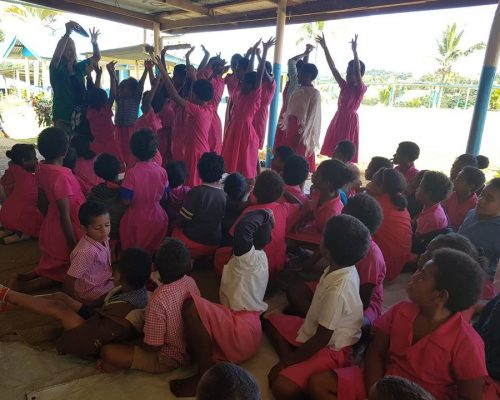 getting primary school students excited about nutrition