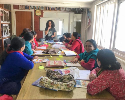 teaching the women