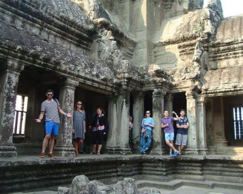 Group temple tour cambodia