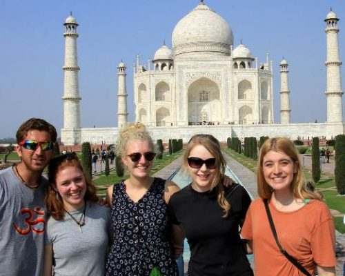 taj mahal india fun times