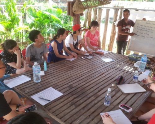 orientation week introducing to cambodia culture and customs