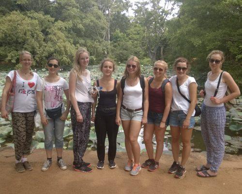group on 4 week experience with IVI volunteers