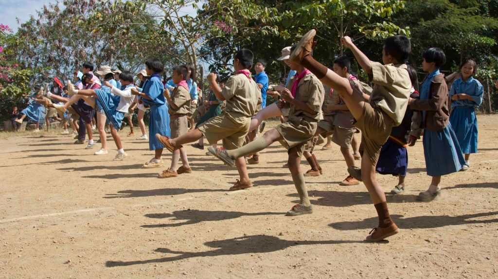 hill tribe martial arts and sports teaching