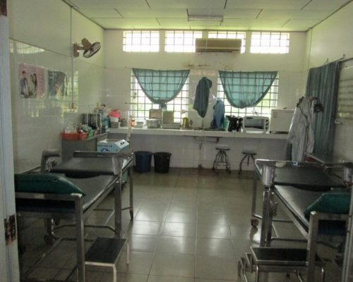 typical medical facility room