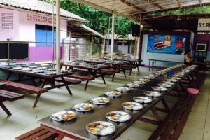 singburi eating center for participants