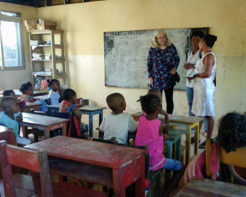 kindergarten teaching Madgascar
