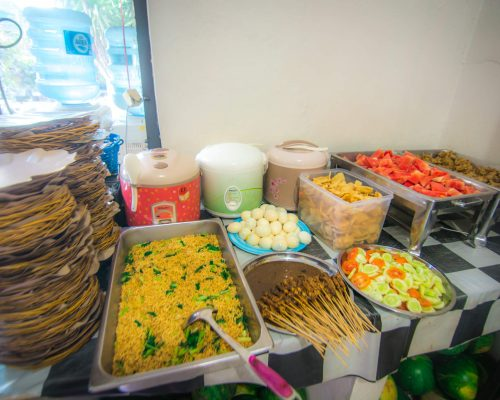 proper nutrition for the volunteers