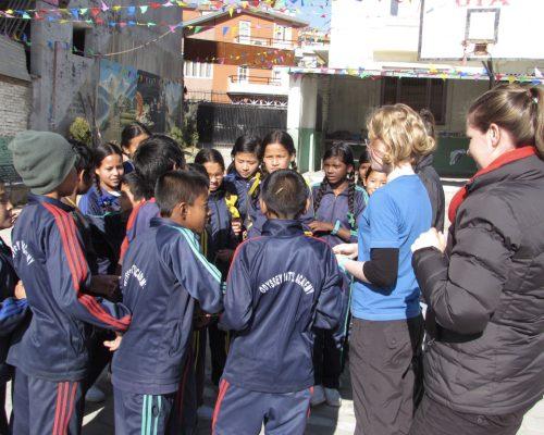teaching outside
