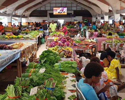 local markets port vila