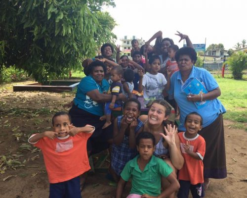Orphanage volunteers fiji
