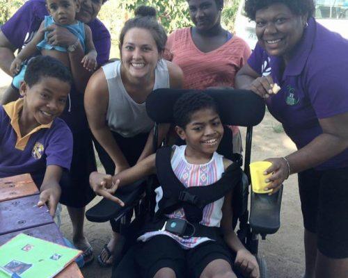 Special needs volunteering